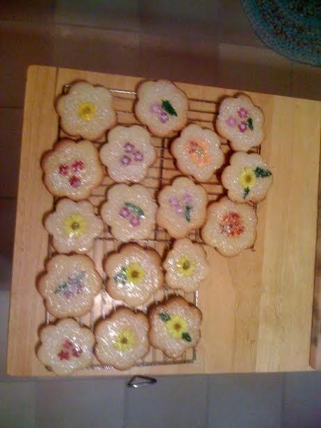 cookies w flowers