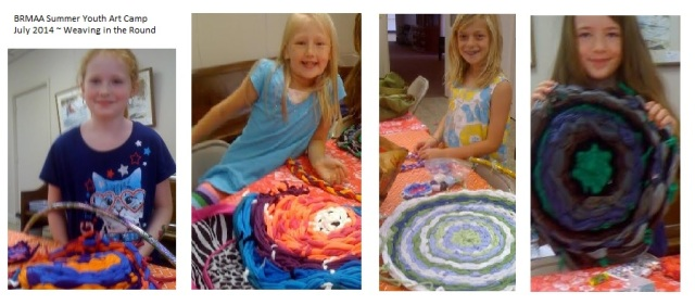 Blue Ridge Mtn. Arts Assoc. Summer Youth Art  Camp July 2014