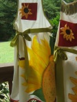 Sunflower aprons 2